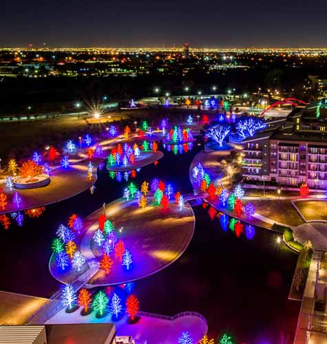 Chance Vitruvian Lights Addison Magazine Weekend Christmas