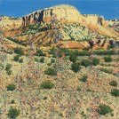 Coalescing Emerged Revelations, by Jim Woodson. Oil on canvas. Photo Courtesy Valley House Gallery.