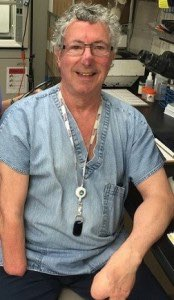Dr. Beck Weathers, pathologist at Medical City Dallas, and Everest survivor. Photo courtesy of Pam Tate, Medical City.