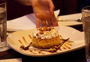 Lazy Dog Pumpkin Cheesecake