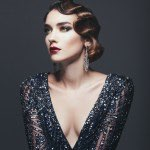 20s-inspired evening wear is always in fashion