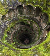 The Quinta da Regaliera Initiation Well in Sintra, Portugal.