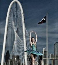 Natalie Anton, Avant Chamber Ballet. Photo courtesy of WaterTower Theatre.