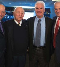 """Executive leadership team members for Southern and Glazer's (from left to right): Wayne E. Chaplin, President and Chief Executive Officer of Southern; Harvey R. Chaplin, Chairman of Southern; Bennett Glazer, Chairman of Glazer's; and Sheldon (""""Shelly"""") Stein, President and Chief Executive Officer of Glazer's."""