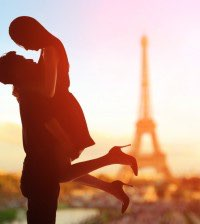 Travel to one of the most romantic cities in the world on the most romantic day of the year.