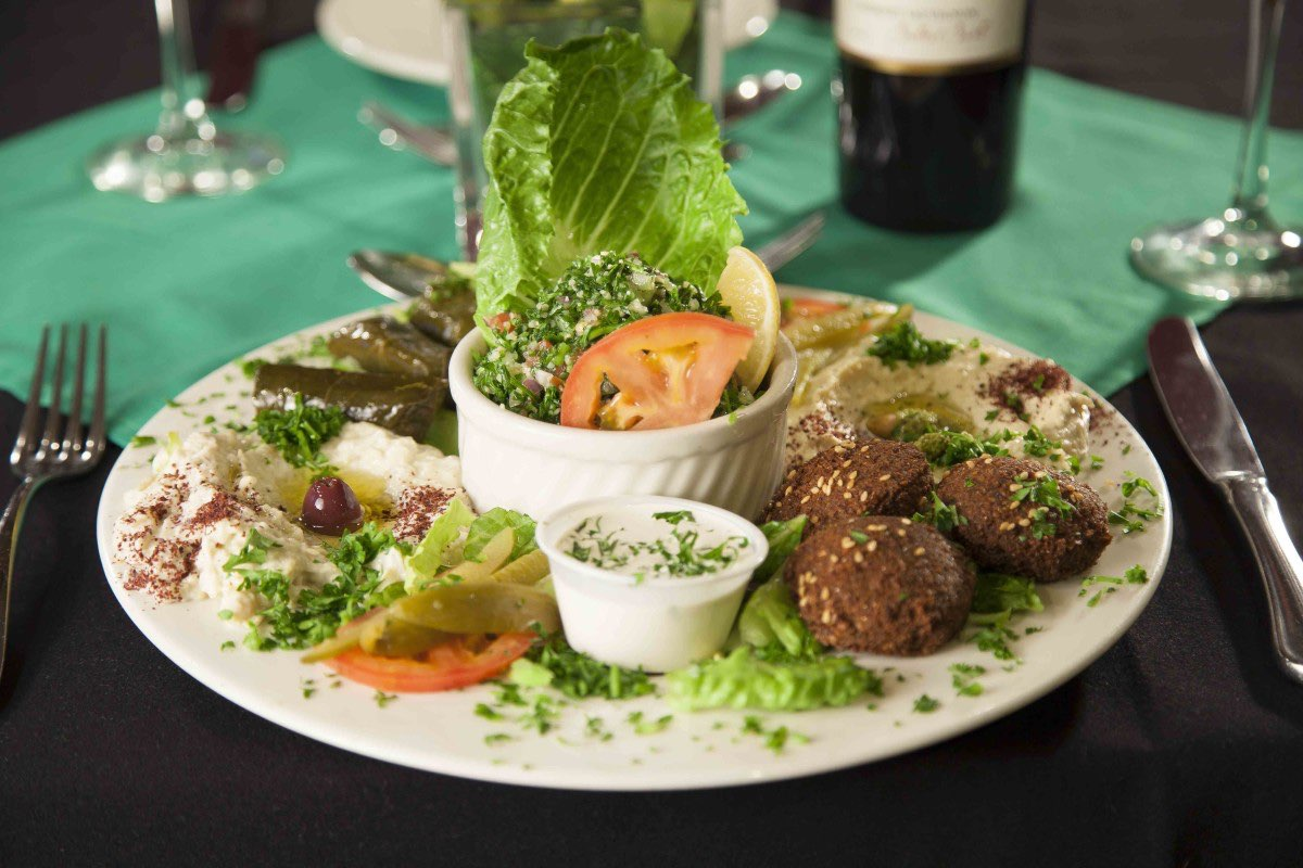 mazza appetizer at sanabels photo courtesy of sanabels mediterranean grill