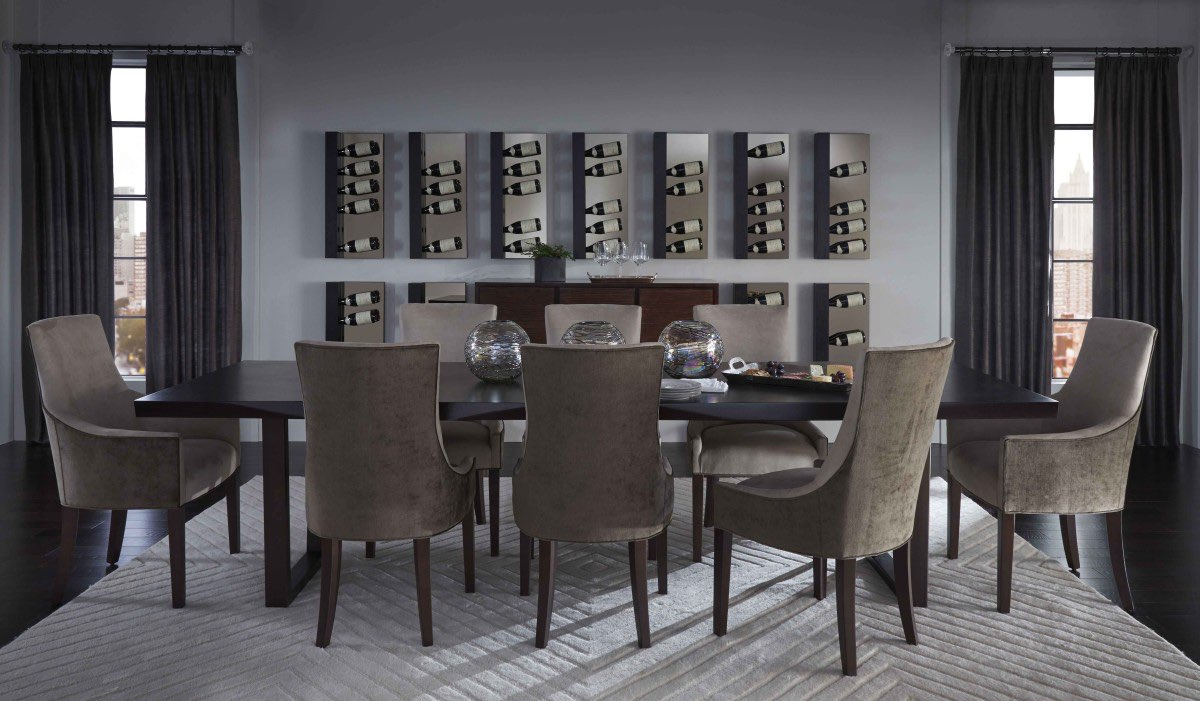 Merveilleux Kimora Table And Ada Chairs, Photo Courtesy Of Mitchell Gold + Bob Williams
