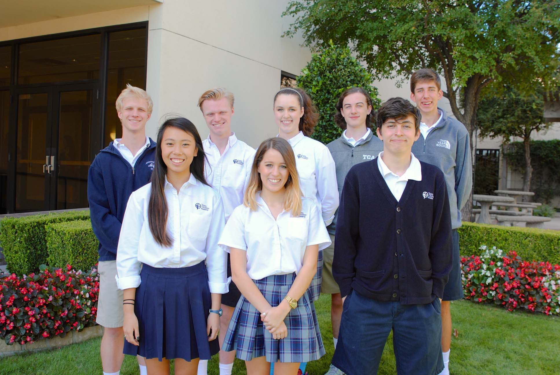 seniors from trinity christian academy d in national merit national merit award students courtesy of trinity christian academy