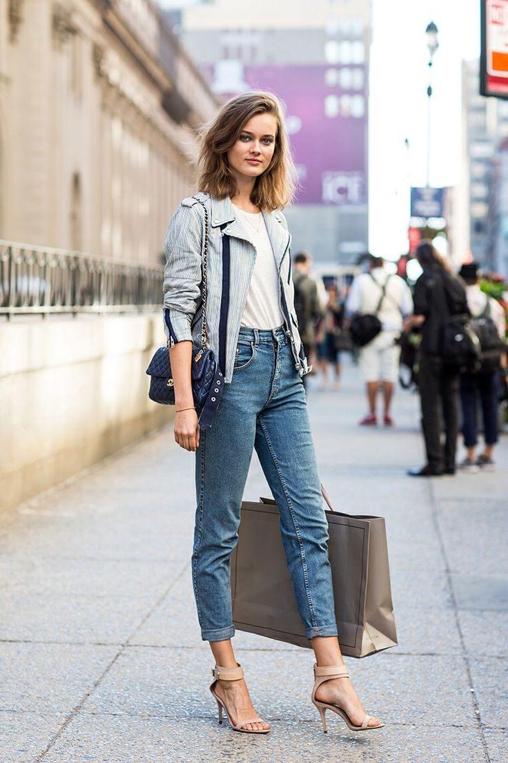 How to Style High-Waisted Jeans - Addison Magazine - Addison Magazine