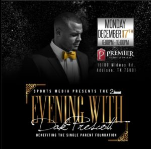 Dinner with Dak Prescott @ Premier Autos of Dallas | Addison | Texas | United States